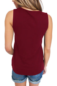 T- Front Tank Top