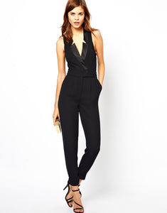 """Regina"" Sleeveless Jump""Suit"""