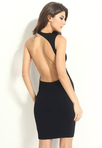 """Estelle"" Backless Bodycon Dress"