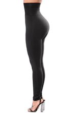 "Load image into Gallery viewer, ""Belted"" High Waist Corset Leggings"