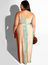 "Load image into Gallery viewer, ""Deena"" Plus Maxi Dress"