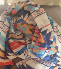 "Load image into Gallery viewer, ""Summertime"" Blanket Scarf"