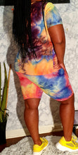 Load image into Gallery viewer, Tie Dye Biker Set