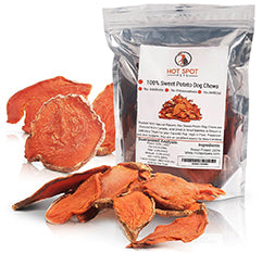 HotSpot Pets Natural Sweet Potato Dog Treats – 15 oz