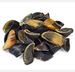 Full-Size Cow Hooves for Dogs | All-Natural Long Lasting Dog Chews | Made from Grass Fed Cattle | Tasty Treat for Oral Hygiene | Fantastic Alternative for Rawhide and Bully Sticks