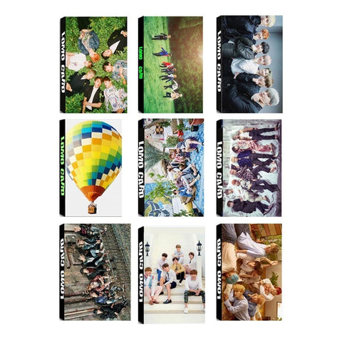 Youpop KPOP BTS Bangtan Boys RUN WINGS WINGS YOUNG FOREVER Album LOMO Cards Self Made Paper Photo Card HD Photocard LK321