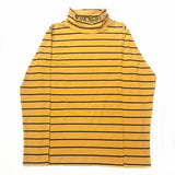 New KPOP Bigbang GD G-Dragon The Same autumn yellow stripy pullover Hoodie Unisex Sweatershirt turtleneck