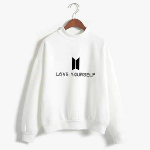 BTS Love Yourself K pop Women Hoodies Sweatshirts Bangtan boys Outwear Hip-Hop Hoodies New K-pop Tracksuit Drop Shipping