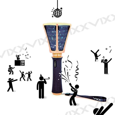 In stock LED KPOP VIXX Ver.2 Official Light Stick 2018 New Stick Lamp Concert Light-up Lamp Fan-Made Gift Collection LightStick