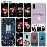 Lavaza Bangtan Boys Face Yourself Love BTS Phone Cover Case for Apple iPhone X XR XS Max 6 6S 7 8 Plus 5 5S SE 5C 4S 10 Cases