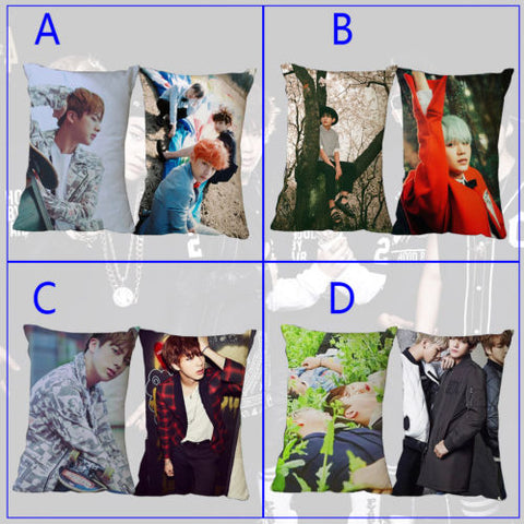 "16x24"" Kpop BTS Pillow Case Bangtan Boys Jin J-HOPE Jimin Jung Kook Pillow Case Cover Dakimakura Cushion Hugging Body Home Decor"