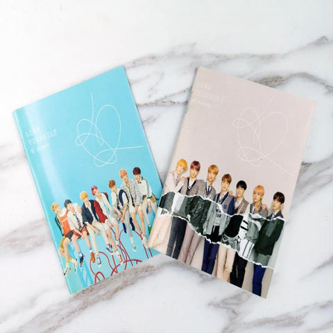 1 Pcs Kawaii Bangtan Boys Mini Diary Exercise Book JIMIN V Cartoon Notebook Kpop BTS Official Korean Stars Stationery