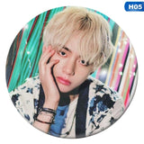 1Pcs Fashion KPOP BTS / Bangtan Boys JIMIN Badge Brooch / Chest Pin Birthday Gift Love Yourself  Fans Brooches