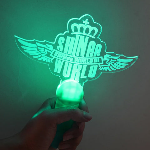 KPOP SHINEE Light Stick World Concert Lightstick Glowing Lamp Light Stick Concert Fans Gift Toy Support Collection