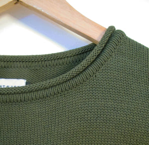 PULLOVER - ARMY GREEN