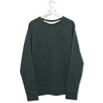 Sweat - organic cotton - Club&Axe - Dark Green