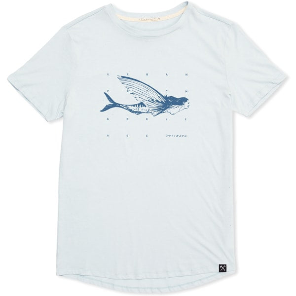 ICE BLUE DRIFTWOOD FISHING CO. T-SHIRT
