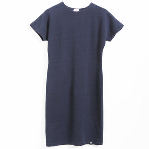 Dress - recycled sweat fabric - Navyº