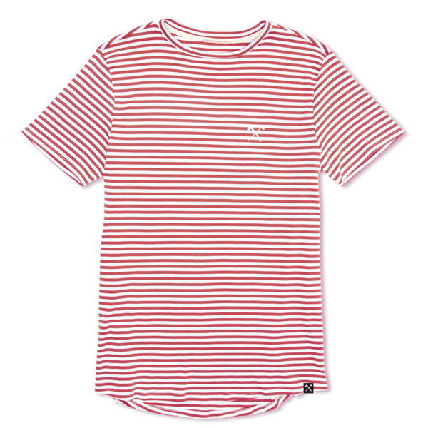 TSHIRTS - STRIPED CLUB&AXE (3 DIFF COLORS)