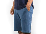 Chino Walkshort - sweat fabric - Blue