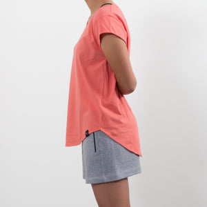 Short - recycled organic jersey fabric - Greyº