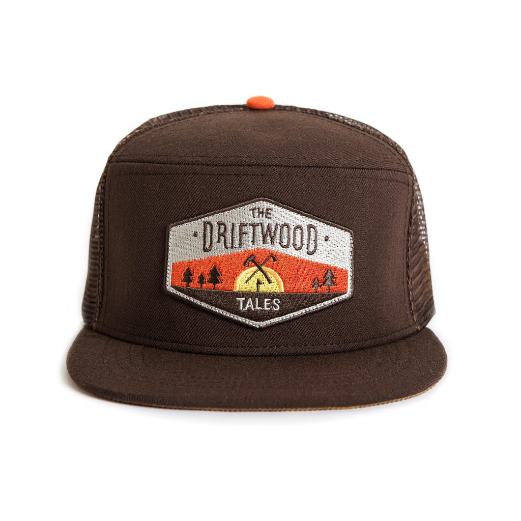 Cap - Brown Trucker