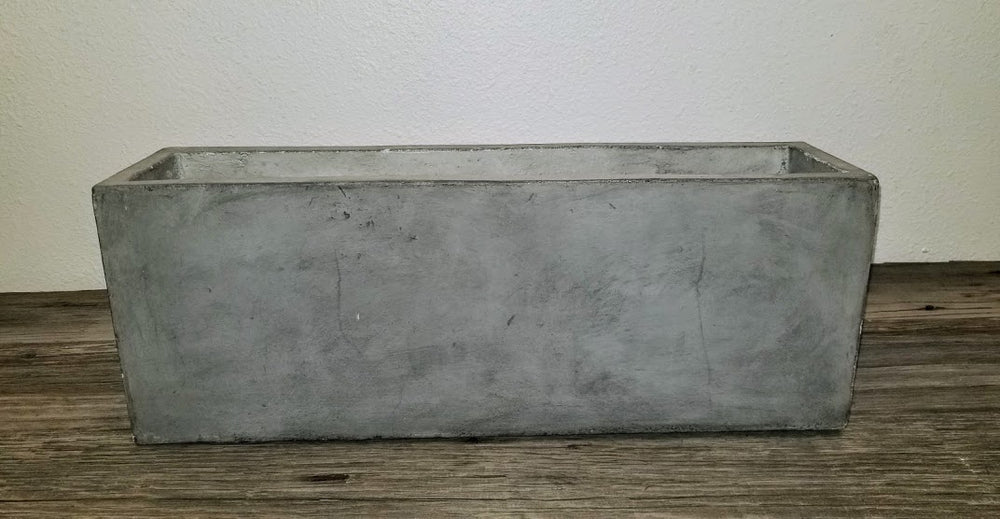 Concrete Rectangle Planter
