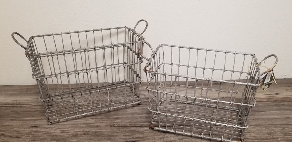 Wire Baskets Set of 2
