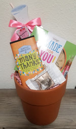 Many Thanks, Mom! Gift Basket Pot