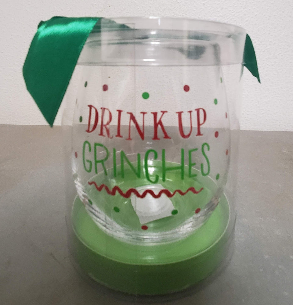 Christmas Wine Glasses