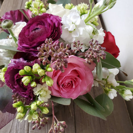 Bright Tones Floral Arrangement