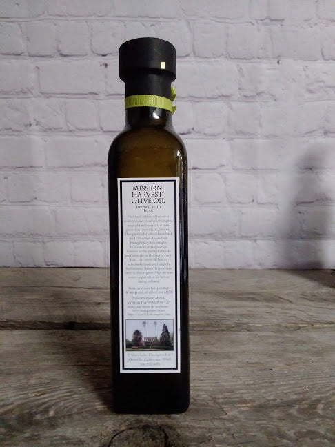 Mission Harvest Basil Olive Oil