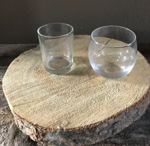 Plain Glass Votive