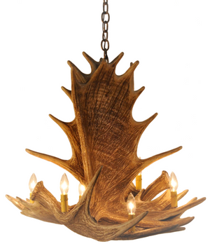 Moose Antler Chandelier