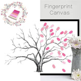 Wedding Gifts for Guests DIY Finger Doodle Decorative Painting Fingerprint Sign in Tree Livre Birthday Party Signature Comunion - latarentaisehebdo