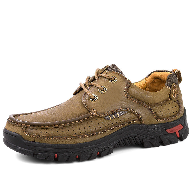 Outdoor Men Leather Casual Shoes