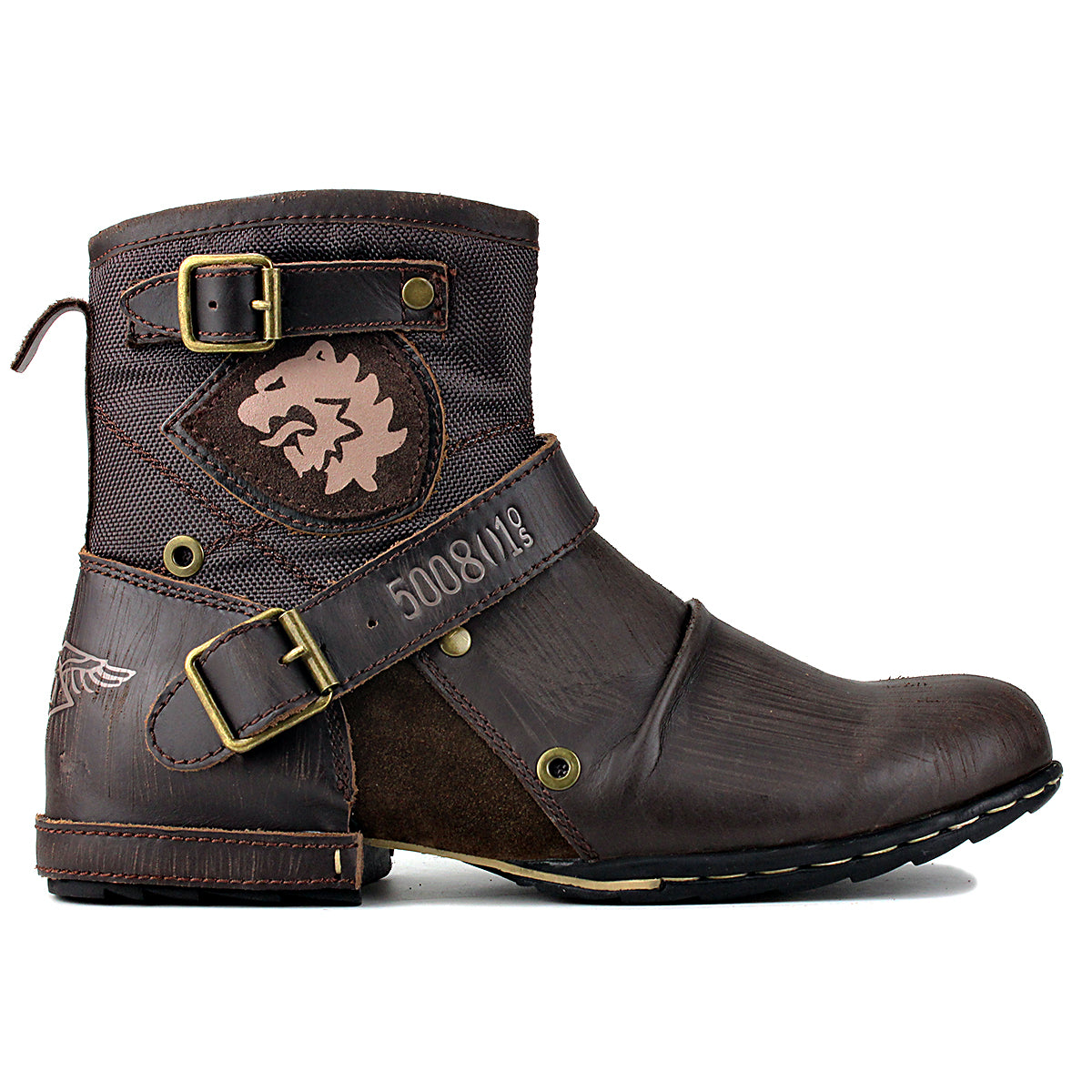 WIIPOP Genuine Leather High Quality Boots