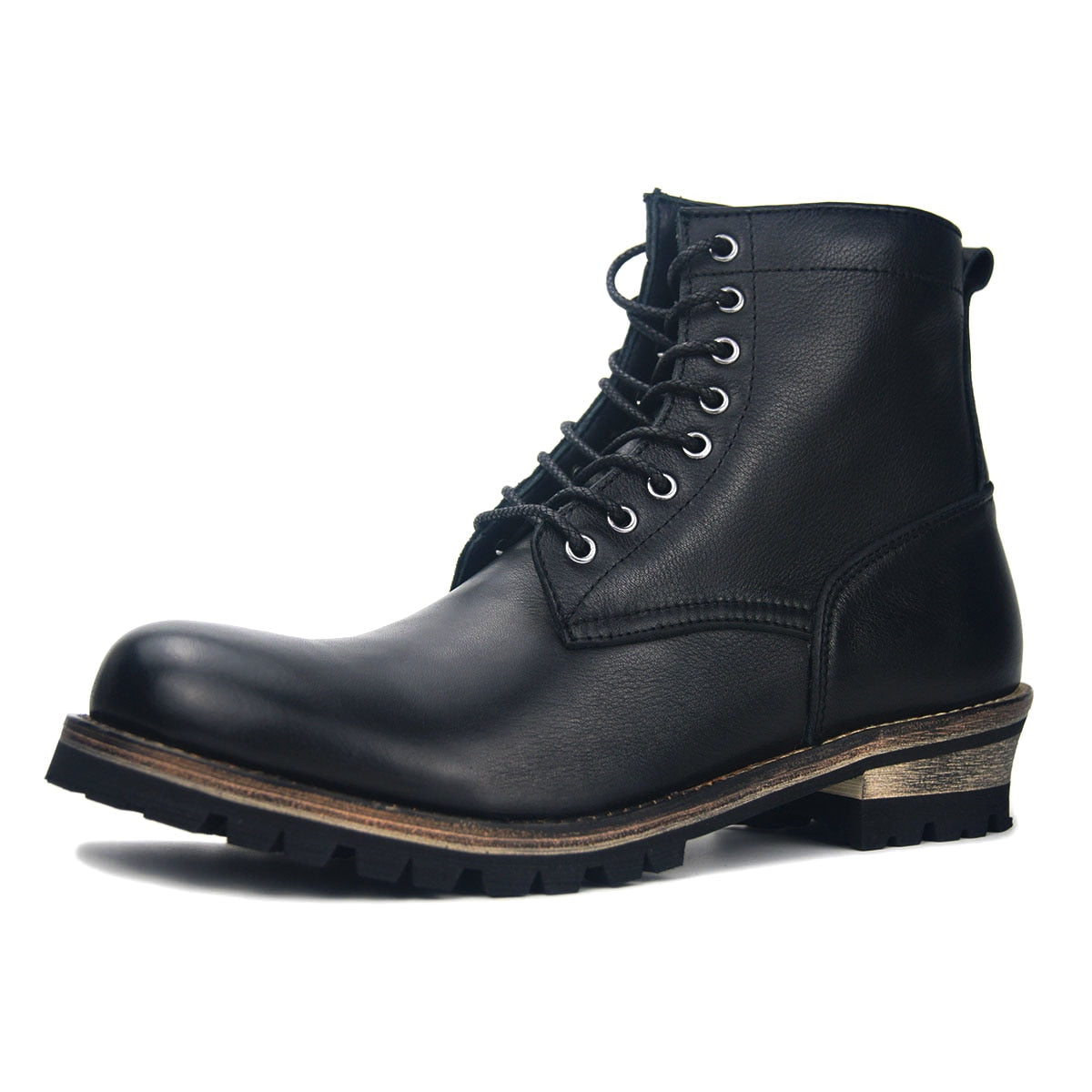 Baldwin Men Zipper  Genuine Leather Boots