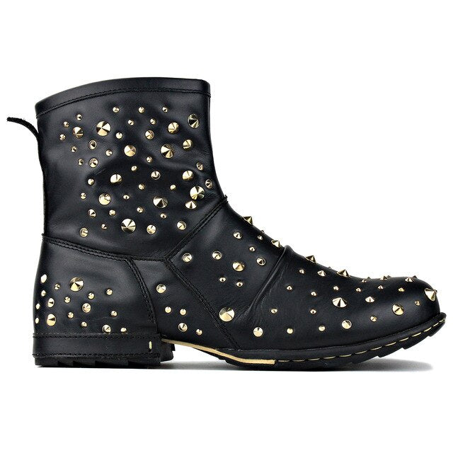 Rivets Ankle Boot