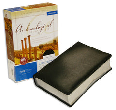 Archaeological Study Bible - NIV, Bonded Leather, Black
