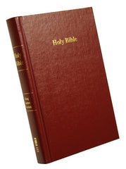 Pew Bible - KJV, Red, Hardcover (older edition)