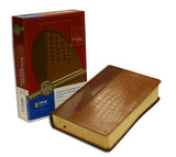 Life Application Study Bible - NIV, Tan/Alligator, European Leather (older edition)