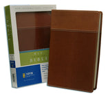 Thinline Bible - NIV, Tan/Dark Tan, Italian Duo-Tone (older edition)
