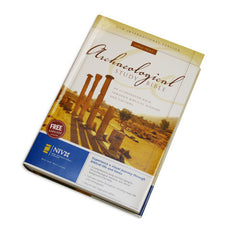 Archaeological Study Bible - NIV, Hardcover, Large Print