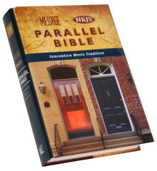 Parallel Bible - MSG/NKJV (older edition)