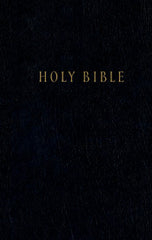 Pew Bible - NLT, Black, Hardcover