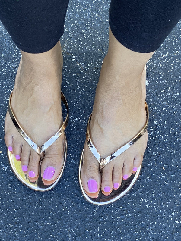 "Lucia Sandals ""Rose Gold"""