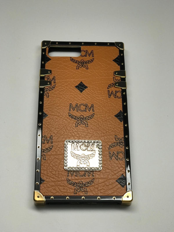 "MC Trunk Monogram iPhone Case ""Brown"""
