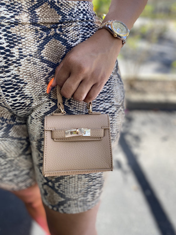 "Bae Pay Mini Bag ""Tan"""