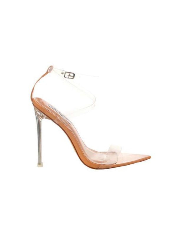 "Skins Transparent Sandals ""Nude"""